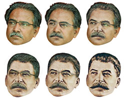 Prachanda to Stalin (picture: nepalitimes.com)