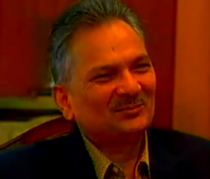 All smiles, Baburam Bhattarai.